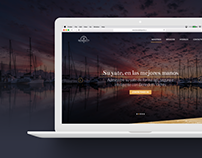 Benedetti Yachts Landing Page
