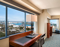 Crowne Plaza Los Angeles Harbour Hotel Retouching