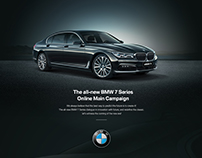 The all-new BMW 7 Series  Online Main Campaign
