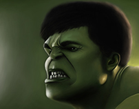 Hulk (digital painting)