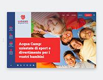 Lugano Aquatics Website (Web Design / Code / UI)