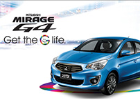 [PH] Mitsubishi Mirage G4 Lightbox Ad
