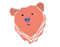 Иллюстрации с медведем