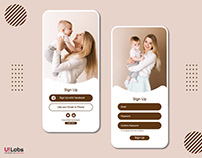 Baby Care UI Concept