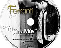 Diseño de Cd & DVD promocional de Alejandro Ferranti