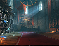 Iron Blade - The White Tower - 3D Environment