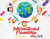International Friendship Day Flyer Template