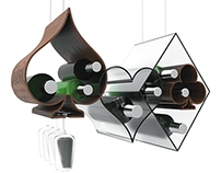 laSpade wine glass rack