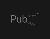Publications / Publikacje