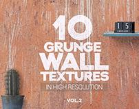 Grunge Wall Textures x10 vol2