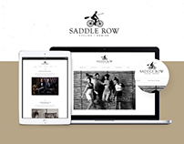 Saddle Row Website
