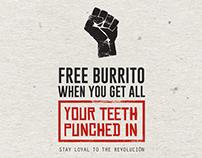 Burrito Revolución Branding