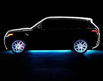 The Night of Lights - Range Rover