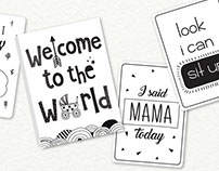 Sommer Home - Baby Milestone Cards