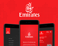 Emirates iOS UI/UX Concept re-design