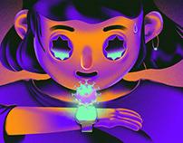Fitbit Illustration - OneZero publication