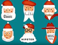 Santa Beards