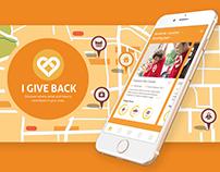 I Give Back - Mobile App