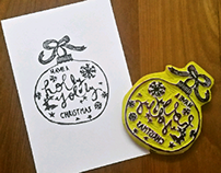 Misc rubber stamps