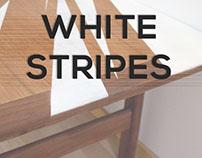 White Stripes - Furniture Revamping
