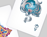 PLAYING CARDS DESIGN ~ Illustration ~ Graduate work