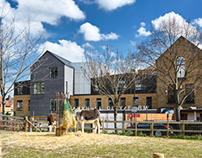 Vauxhall City Farm, London. Base Associates
