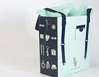 Haberdashery Shopping Bag