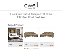 Dwell Email Template Design