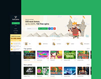EstCasino — logo & interface of online casino