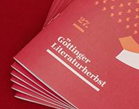 Event Branding for Literaturherbst literature festival