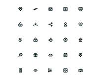 Set de iconos genéricos