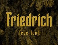 Friedrich - Free Font