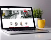 Kitco Endüstriyel Mutfak Web Tasarım