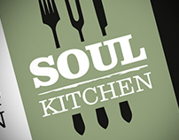 Soul Kitchen Restaurant identity and branding
