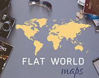 Flat World Map