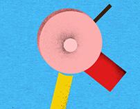 Illustrations for ossomagazine about Milan design week