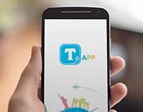 UI Design e Identidade Visual - Tourism App