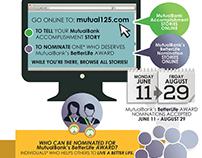 Mutual125, MutualBank Anniversary Infographic