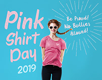 Pink Shirt Day Posters