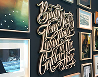 Typography Pieces 2014