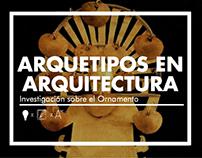 Arquetipos en Arq: El Ornamento / ARQU-2201
