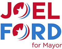 Joel Ford for Mayor Rebrand Identity