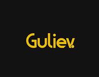 Guliev logo design