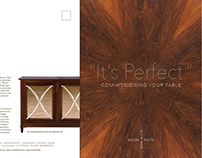Furniture Designer Printed Brochure