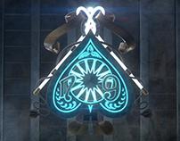 Ace of Spade from Tally-Ho