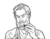 Beard oil guide