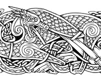 Historical Zoomorphic Knotwork Art