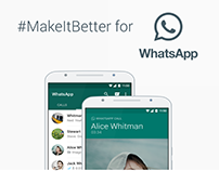 #MakeItBetter: WhatsApp
