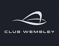 Club Wembley. Website Concept