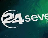 24seven media branding